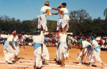 Tribe dancing show