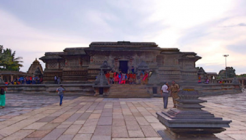 Belur Temple Front View