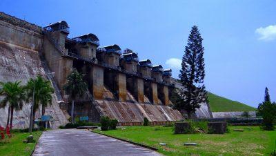 Hemavathi Dam side view