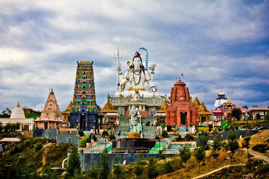 Front view of Chardham