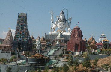 Lord Shivas statue 1