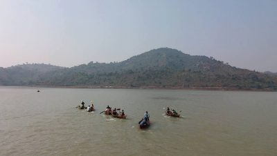 Boating Competition at Indravati reservoir