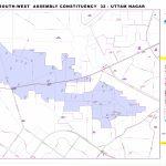 Uttam Nagar Assembly Constituency Map