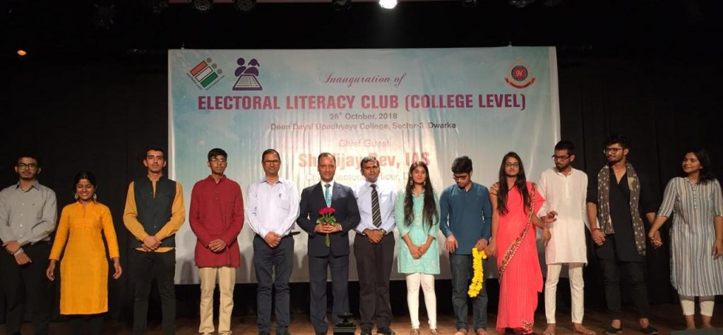 GroupPhoto at electoral literacy club