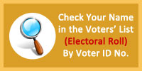 Check your name in VoterList using Voter ID