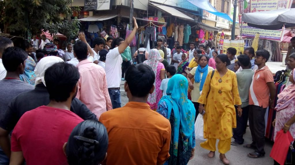 Nukkad Natak on EVP at Najafgarh 5