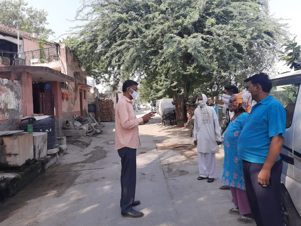 Awareness campaign for covid management behavior is being done today in many villages of Kapasera sub division. Social distancing, mask wearing and regular hand wash are the key points of awareness3