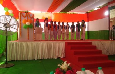 Group Song on Independence Day Celebration