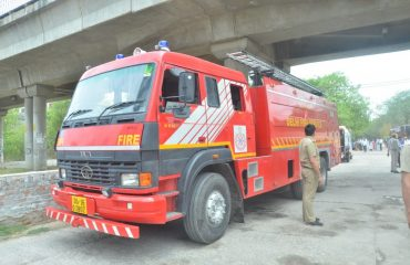 Fire Brigade on Disaster_Site