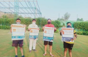 Awareness team at DDA park sec-93