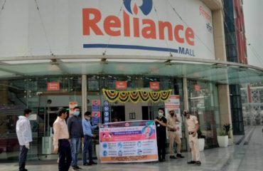 Awareness team at various Petrol pumps and Big Malls4