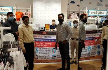 Awareness team at various Petrol pumps and Big Malls6