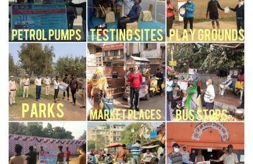 Awareness Activities at various Sites of SWDistrict