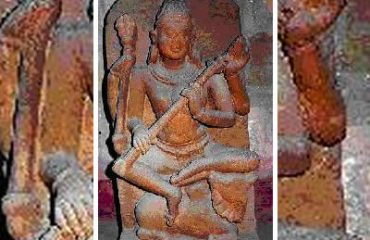 Ancient Idol at Devgarh Temple