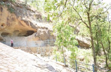 Ramgarh Cave in Udaipur Block