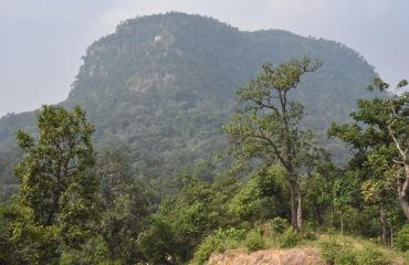 Hill Of ramgar where Lord Ram stayed during vanvas