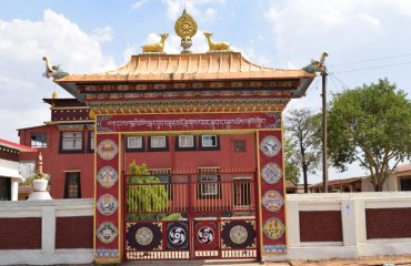 Mainpat Tibbet Temple Entrance Gate