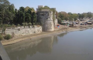 Surat Old Fort view from bridge
