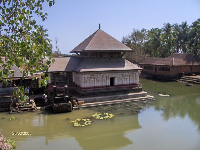 Lake Temple at Ananthapuram