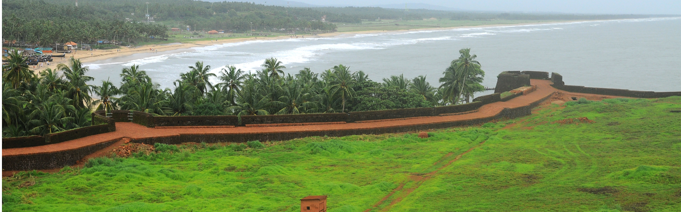 Bekal Fort - A Panaromic View