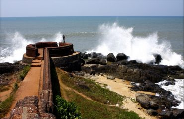 Bekal Fort ( Waves from the Sea)