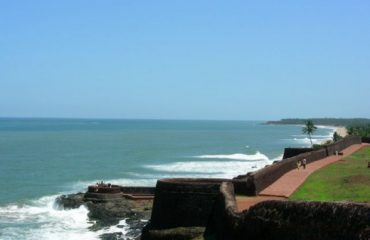 Bekal Fort with Arabian Sea