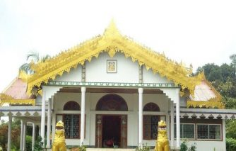 Theravada buddhist temple