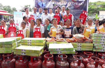 free lpg cylinder to beneficiaries