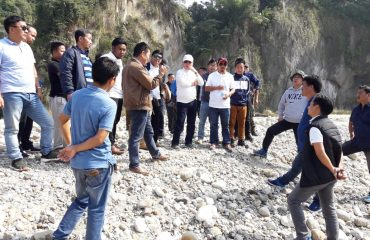 HM Env & Forest and DC inspects ongoing projects