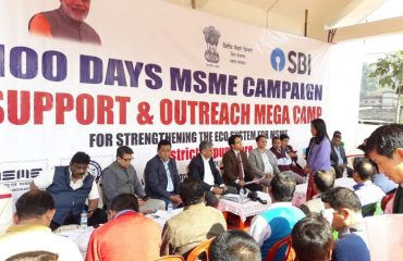 100 Days MSME Support & Outreach Campaign