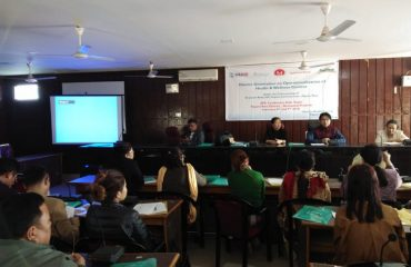 Health & Wellness Centre orientation program held today at Yupia for Health & Wellness officers and ANMs.