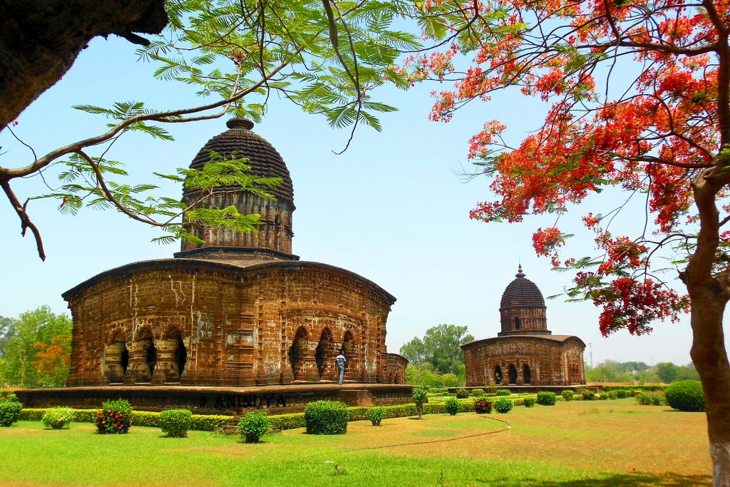 Bishnupur temple at poramatir hat