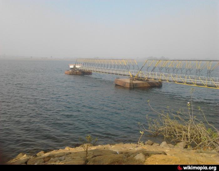 Gangdua Dam bridge long view
