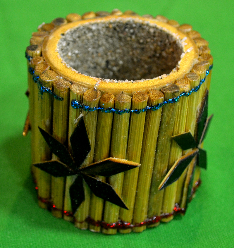 Different Bamboo Work of pen stand