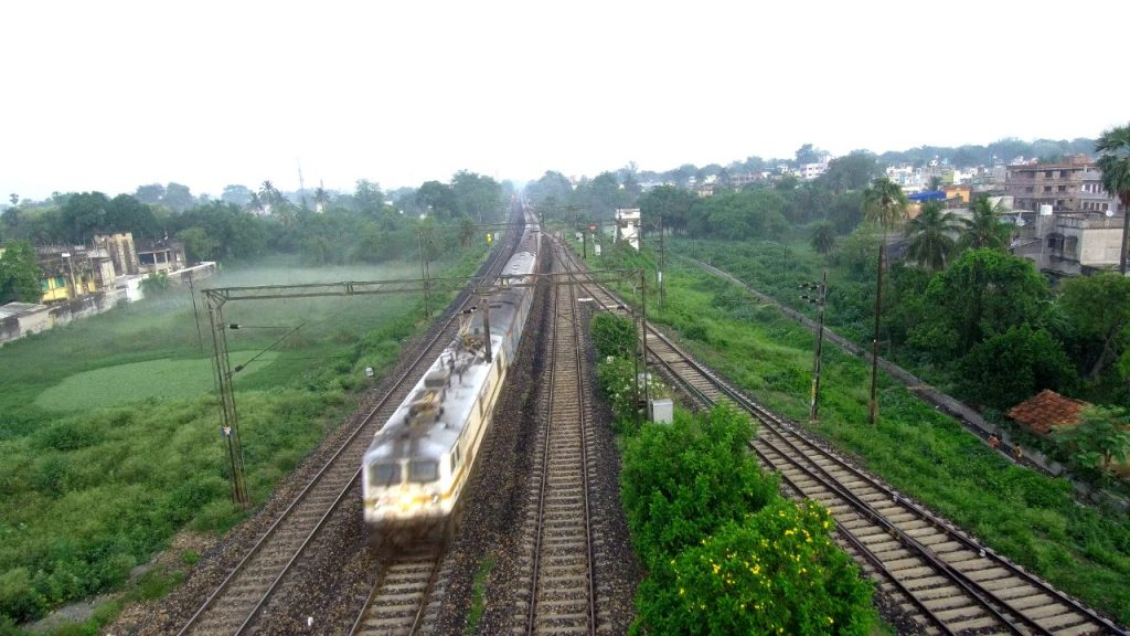 Arrival of migrant labourer Train at Bankura Station