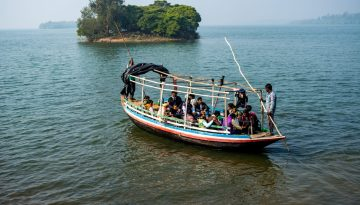 Mukutmanipur Boat riding