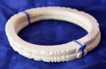 Conch Shell wearing designing Bangles