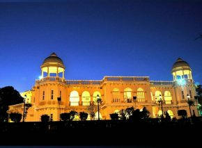 balaram palace in night