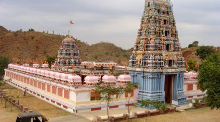 front view of Kamaxi Mandir