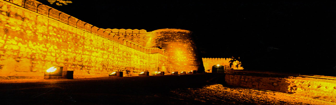 Night View of Fort
