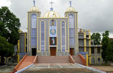Church front view