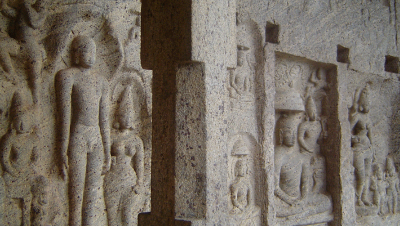 Rock cut Jain Temple at Chitharal