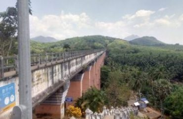 Mathur hanging bridge Side View