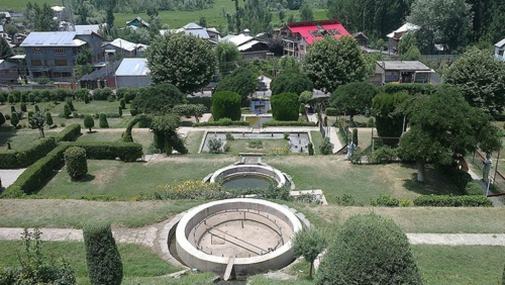 Image result for Nishat Park Bandipora