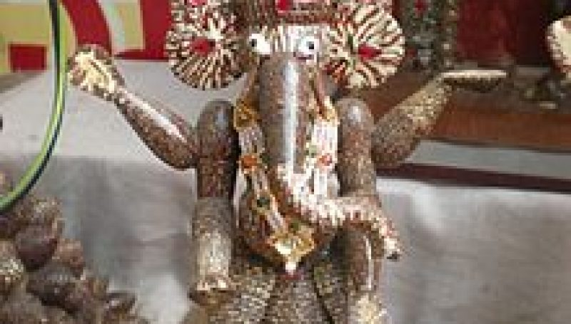 Lord Ganesh's sculpture