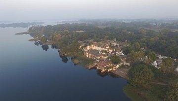 Govindgarh Palace And Lake