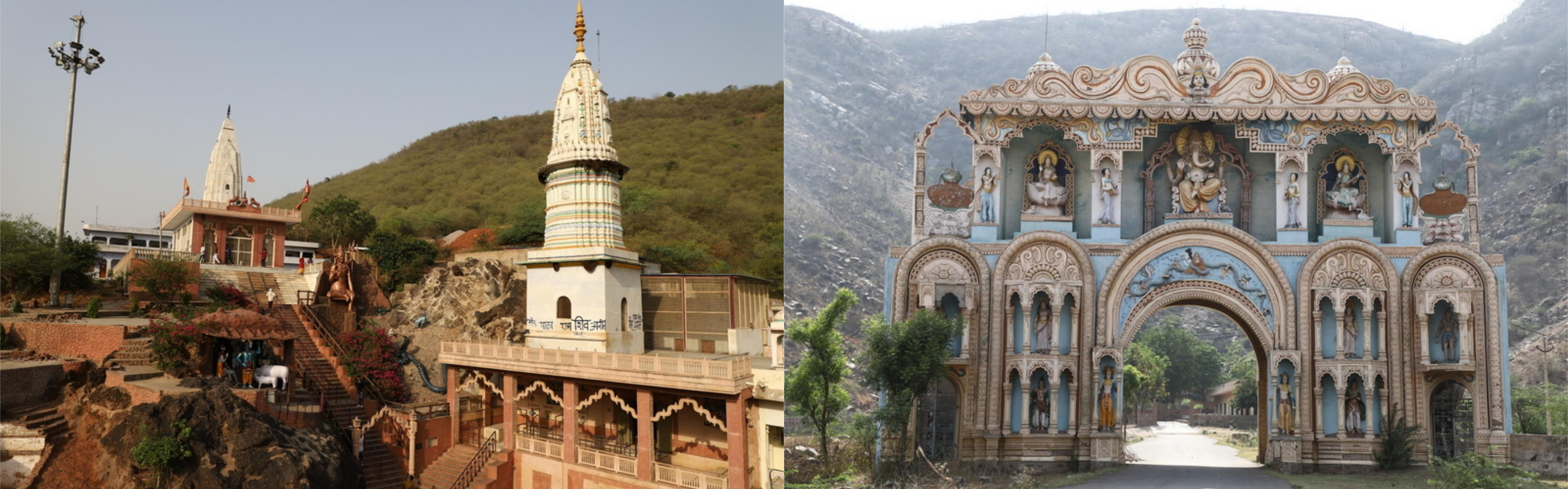 शिव मंदिर, फिरोजपुर झिरका और नल्हढ़ मंदिर नूंह