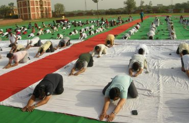21 June 2018 International Yoga Day.