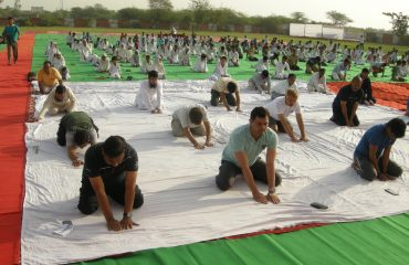 21 June 2018 International Yoga Day .
