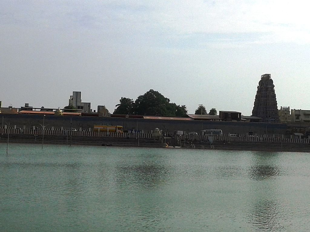 Temple Tank Night View
